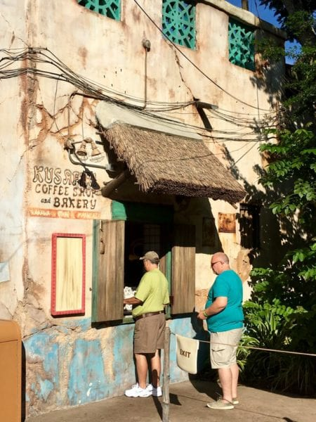 Kusafiri Coffee Shop and Bakery Outside