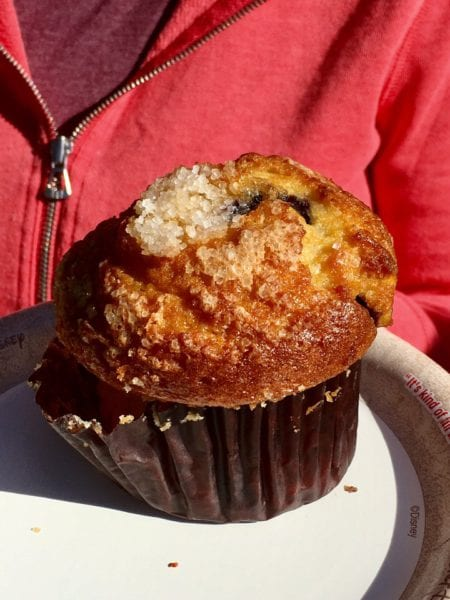 Kusafiri Coffee Shop and Bakery Review Blueberry Muffin