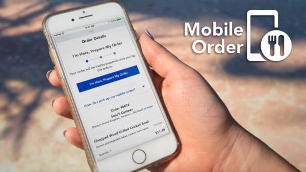 Mobile Order Disney Dining Plan