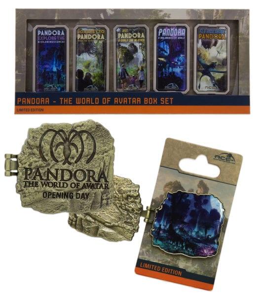 World of Avatar Merchandise pins