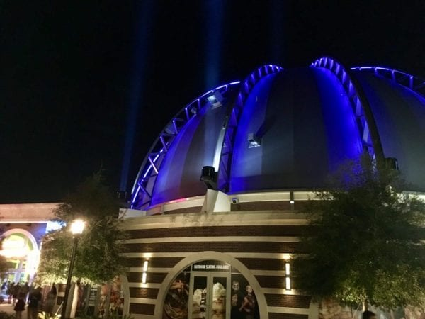 Planet Hollywood Observatory Bar Dome Exterior