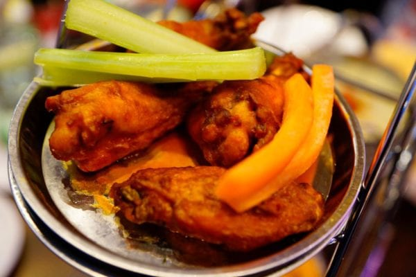 Planet Hollywood Observatory Review Buffalo Wings