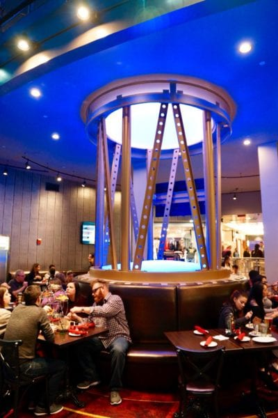 Planet Hollywood Observatory Review Ground Level Dining Room