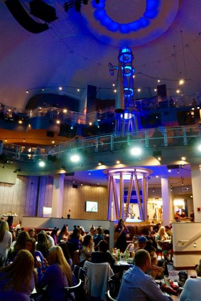 Planet Hollywood Observatory Review Dining Room Levels