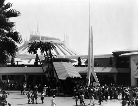 Space Mountain 40 Years afer opening