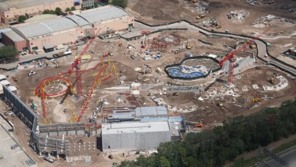 Toy Story Land and Slinky Dog Dash Track