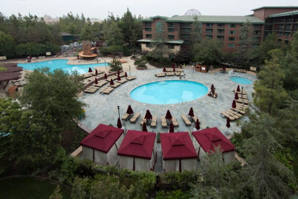 Grand Californian Hotel Pool mariposa