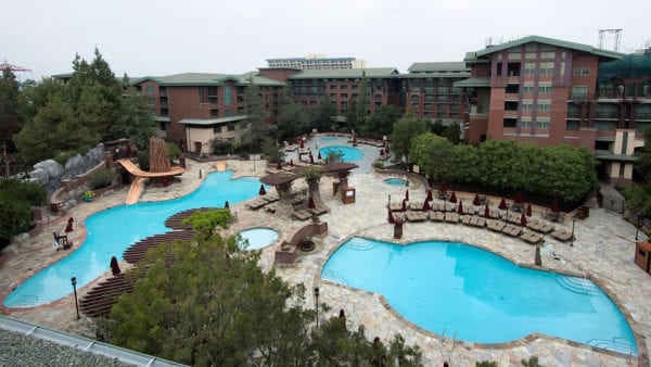 Grand Californian Hotel Pool remodel