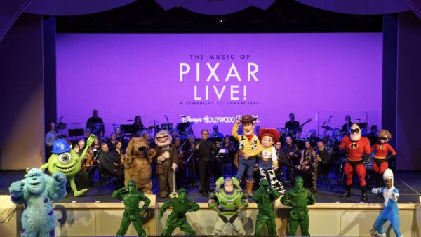 The Music of Pixar Live! Streaming Event