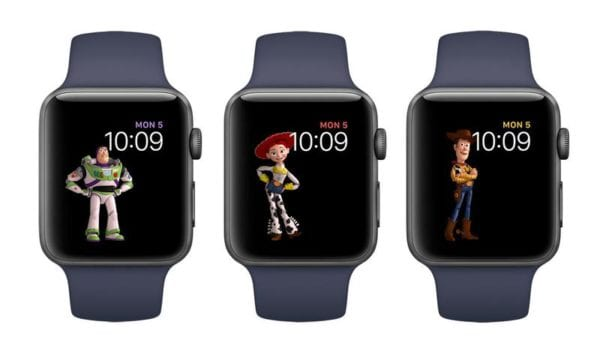 Toy Story Faces on Apple WatchOS4