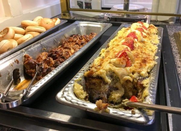 Crystal Palace Breakfast Review Buffet Breakfast Lasagna