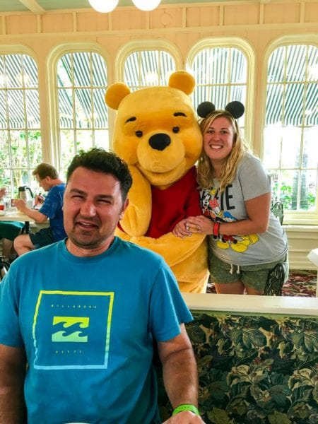 Crystal Palace Breakfast Review Pooh with Jesse and Steph