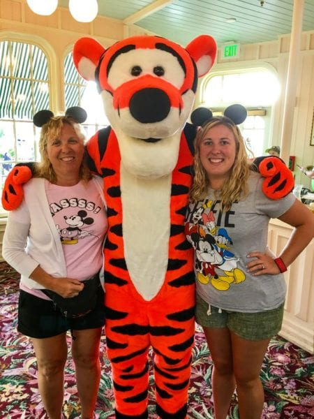 Crystal Palace Breakfast Review Tigger with Leigh and Steph