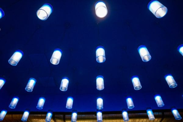 Frontera Cocina Review Blue Lights