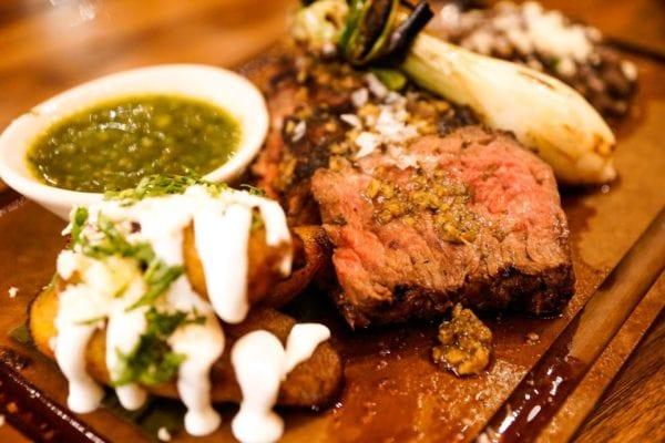 Frontera Cocina Review Carne Asada plate