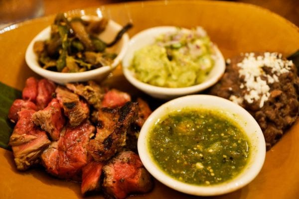 Frontera Cocina Review Carne Asada Taco Plate