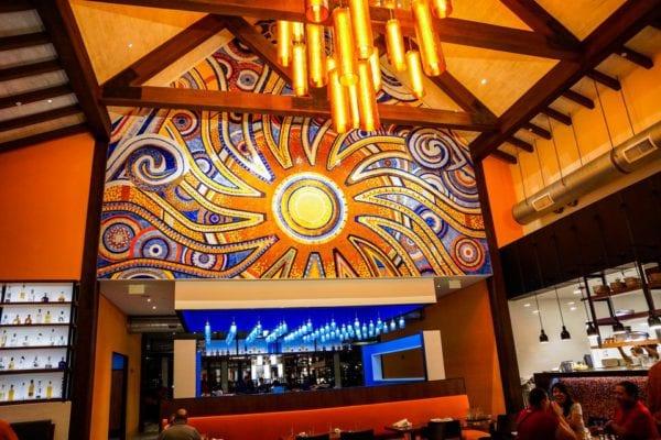 Frontera Cocina Review Sun Mural