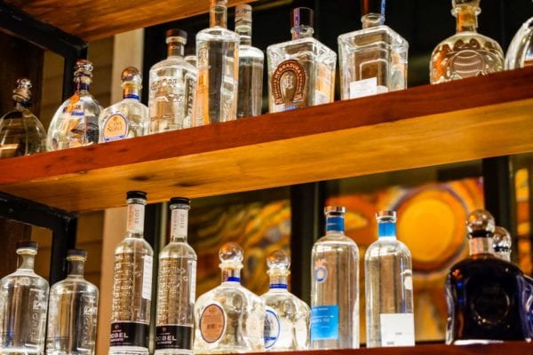 Frontera Cocina Review Tequila Shelf 2
