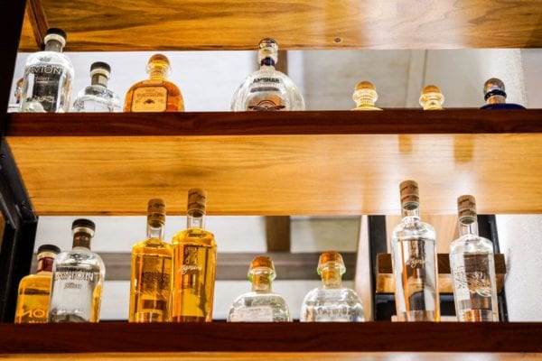 Frontera Cocina Review Tequila Shelf 3