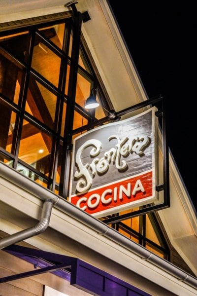 Frontera Cocina Review Sign