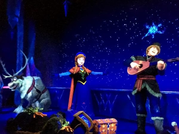 Frozen Ever After Ride Disneyland Paris and Hong Kong