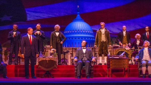 Hall of Presidents Reopening in December 2017