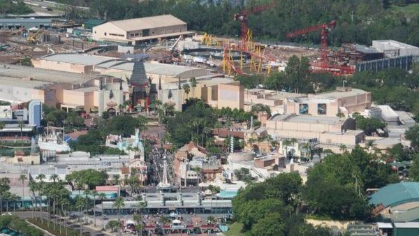 Star Wars Land AT-AT construction hollywood studios