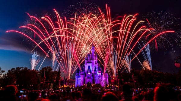 Live Stream of 4th of July Fireworks at Disney's Magic Kingdom