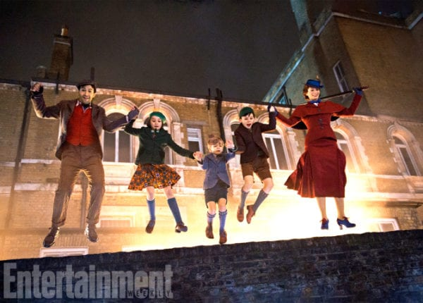 Images from Mary Poppins Returns roof