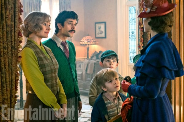 Images from Mary Poppins Returns family