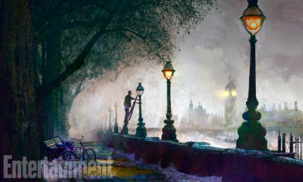 Images from Mary Poppins Returns bridge
