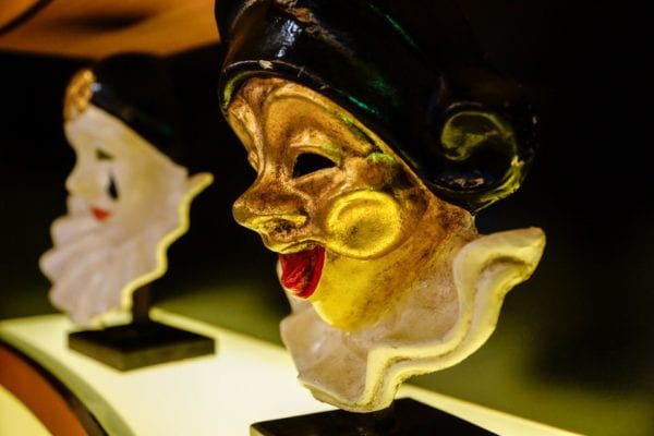 Palo Dinner Review Golden Mask