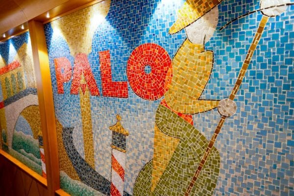 Palo Dinner Review Gondola Mosaic