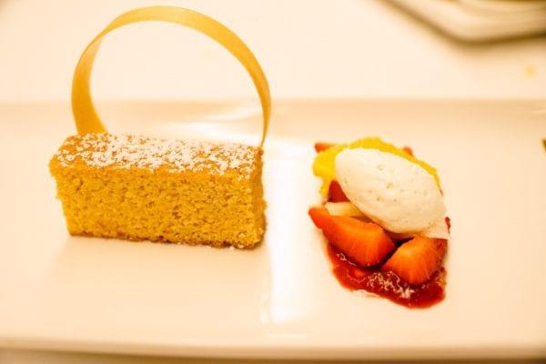 Palo Dinner Review Orange Almond Cake