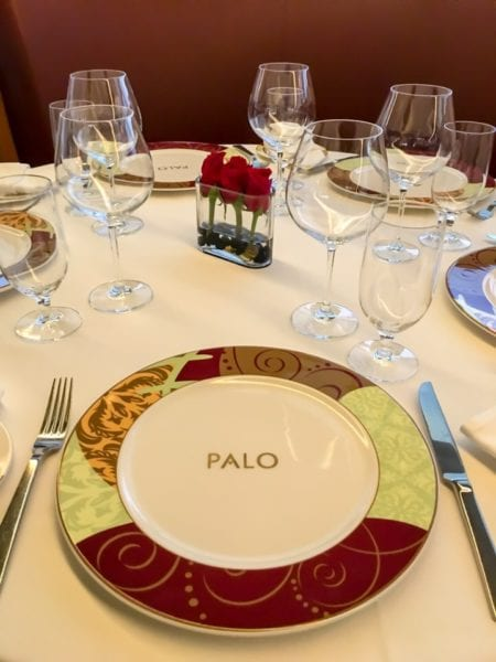Palo Dinner Review Place Setting