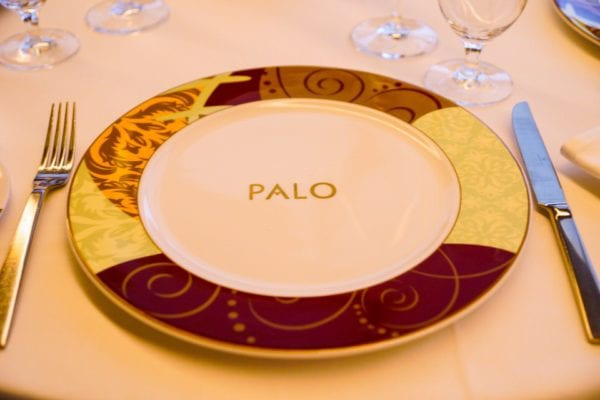 Palo Dinner Review Plate
