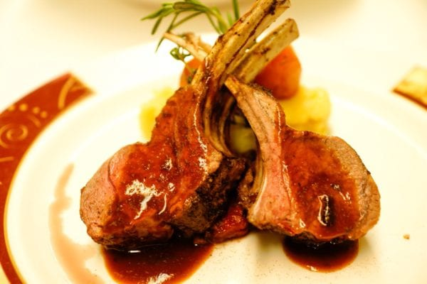 Palo Dinner Review Rack of Lamb w/ Sauce