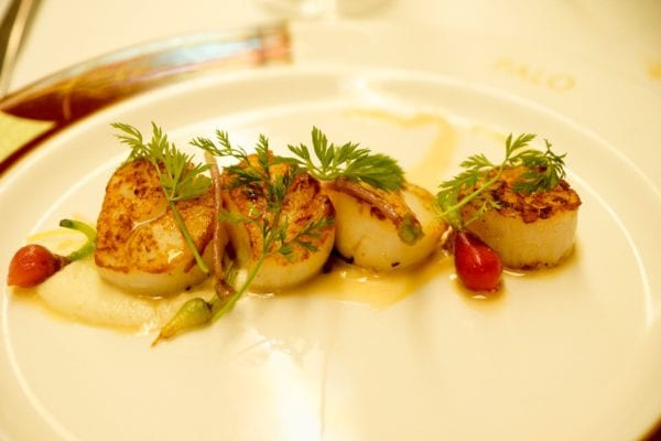 Palo Dinner Review Sea Scallops