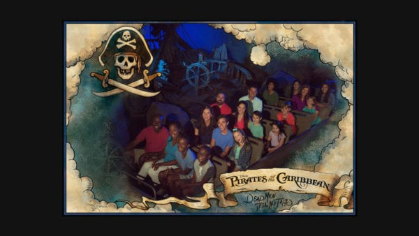 Pirates of the Caribbean Ride Photo