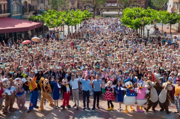 Shanghai Disneyland's First Anniversary celebration