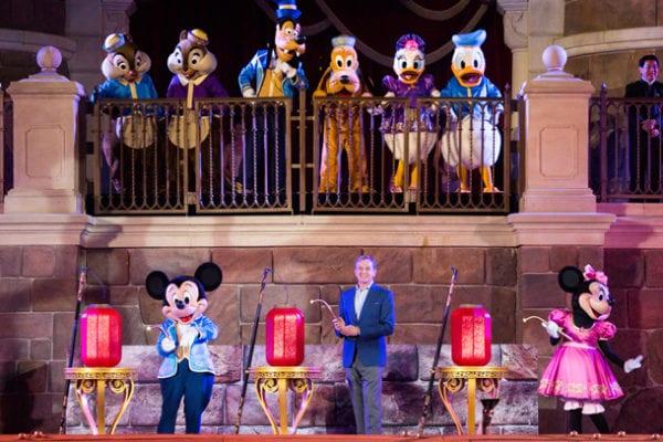 Shanghai Disneyland's First Anniversary bob iger