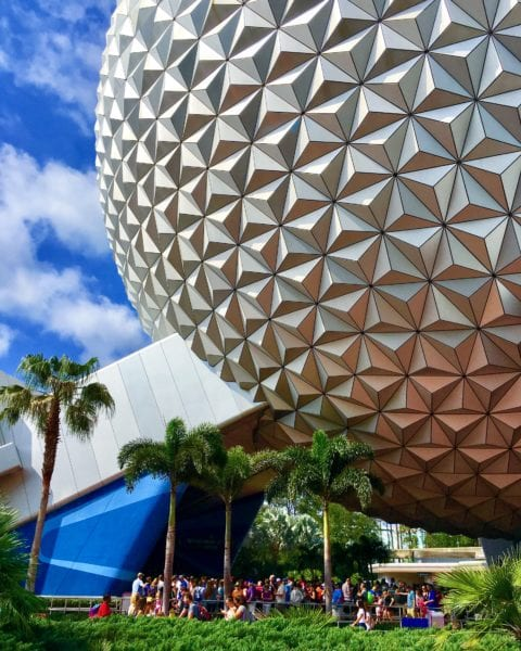 D23 Expo 2017 Rumors Spaceship Earth Epcot