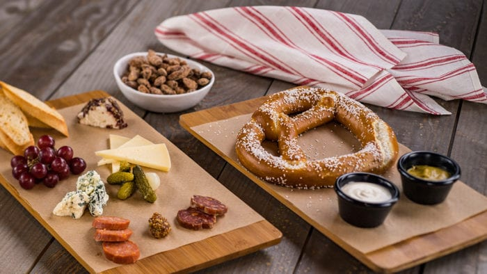 BaseLine Tap House Coming to Hollywood Studios pretzel