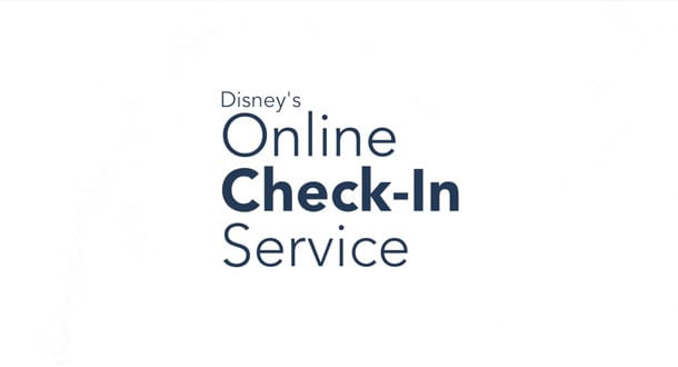 Online Check-In for Walt Disney World logo