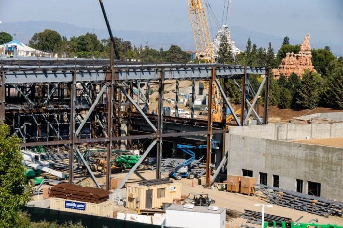 Star Wars Galaxy's Edge Construction first order battle buidling