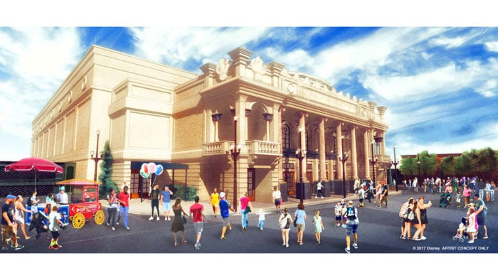 Theater Coming to Disney's Magic Kingdom