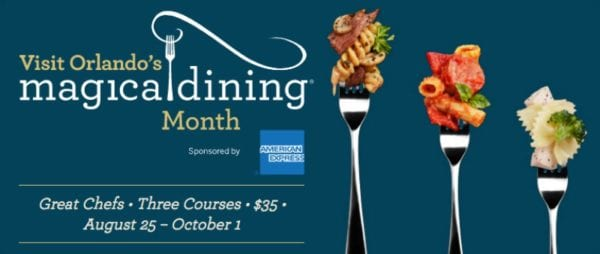 Orlando Magical Dining Month Extended