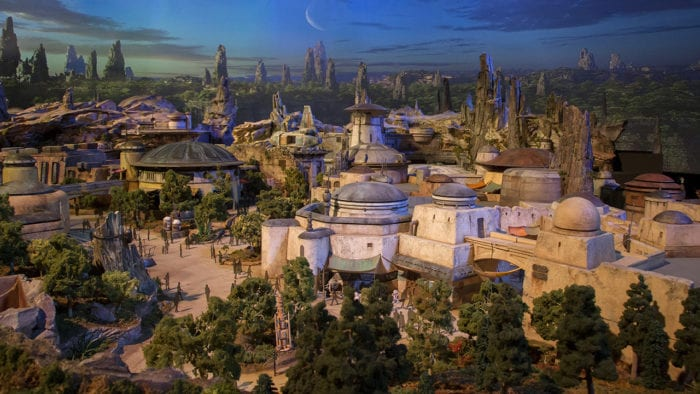 Star Wars Galaxy's Edge Detailed Blueprints Show the Layout of Batuu