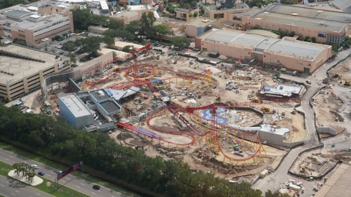 Slinky Dog Dash Coaster Track finished