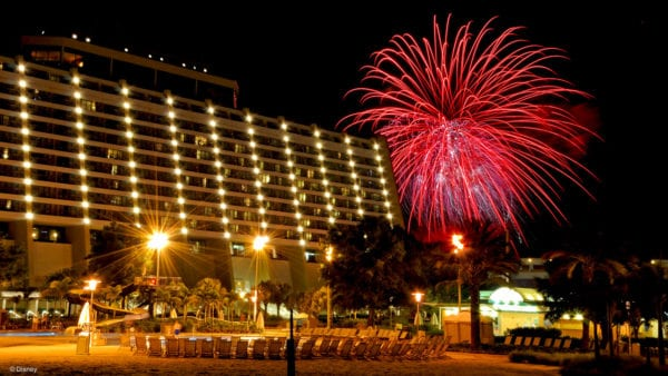 Disney's Contemporary Resort New Year's Eve parties